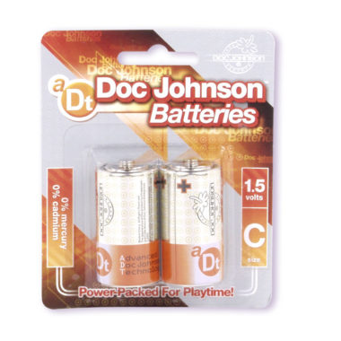 Doc Johnson C Batteries 2 Pack