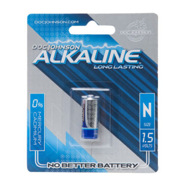 Doc Johnson N Size Alkaline Battery