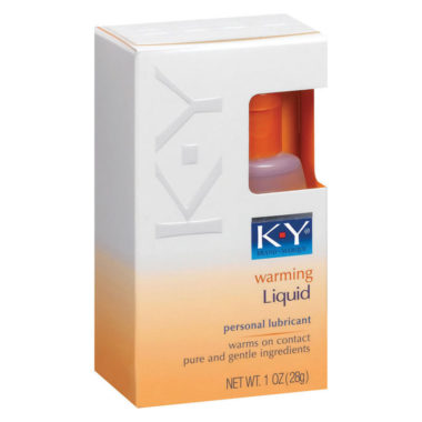 KY Warming Liquid Personal Lubricant