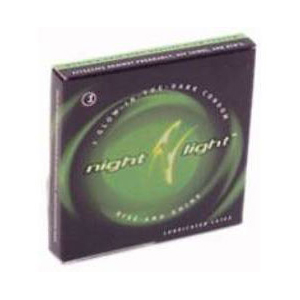 Night Light Glow in the Dark Single Condom