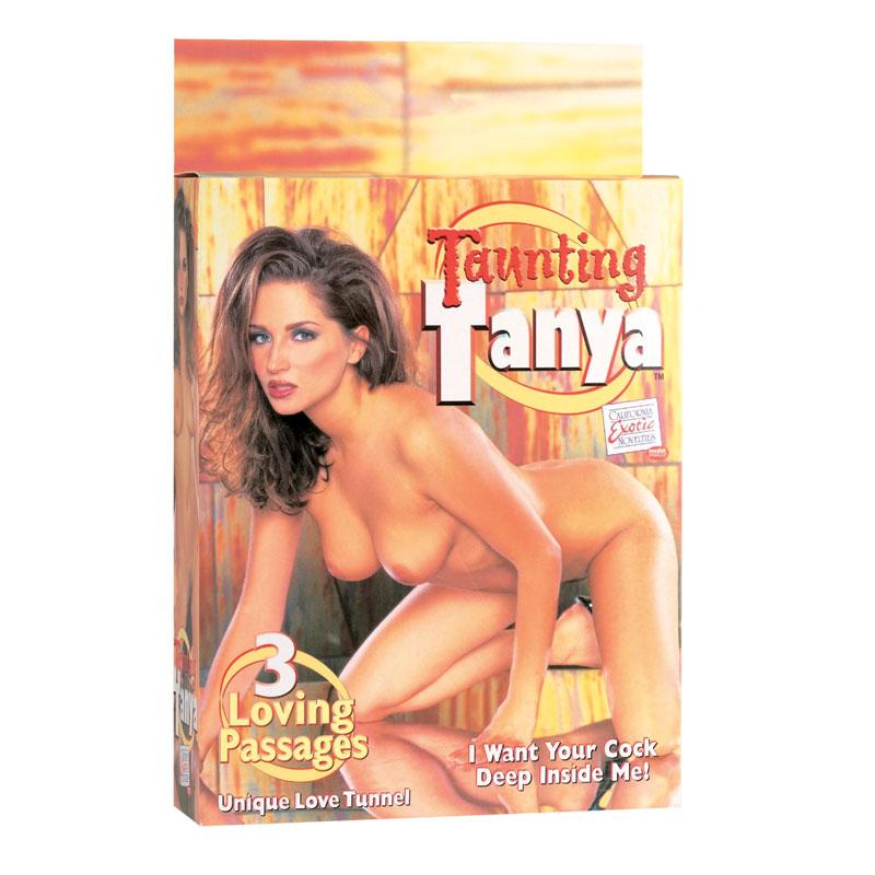 California Exotic Taunting Tanya Sex Doll