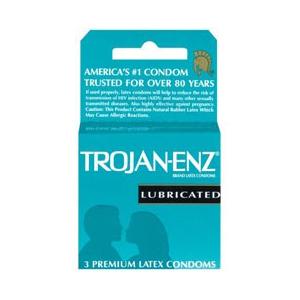 Trojan ENZ 3 Pack Condoms