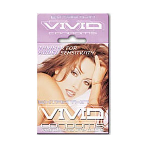 Vivid Extra Thin 3 pack Condoms