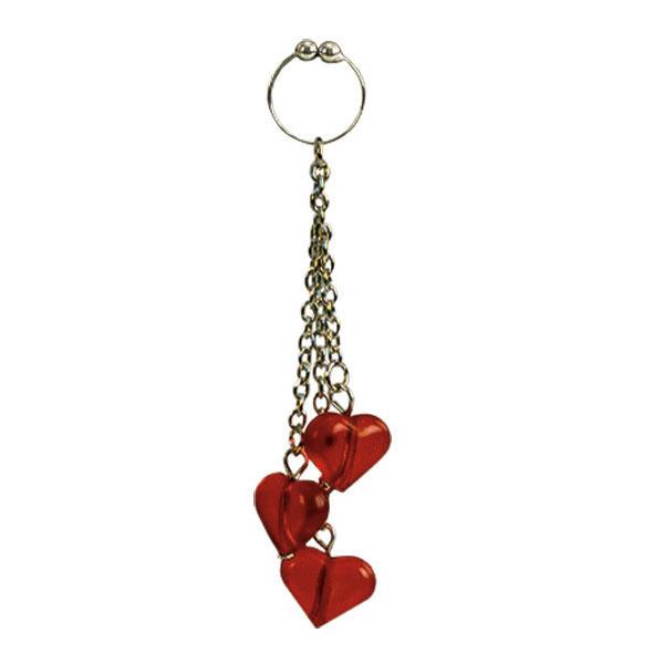 California Exotic Asian Hearts Navel Ring