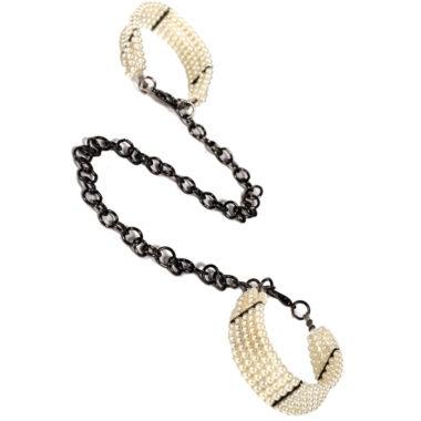 Bijoux Plaisir Nacre Pearl Cuffs