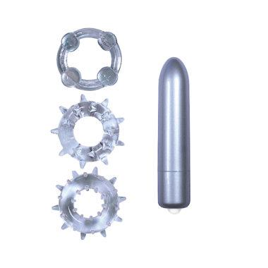 Nass Toys Bullet Vibrator & Cock Ring Set