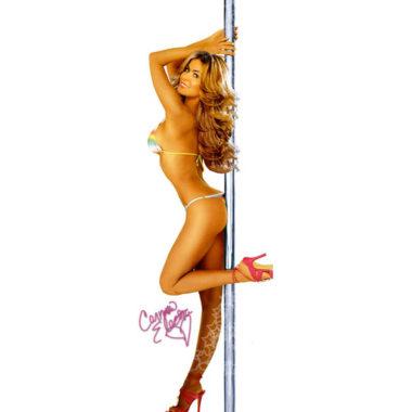 Carmen Electra Dancing Pole