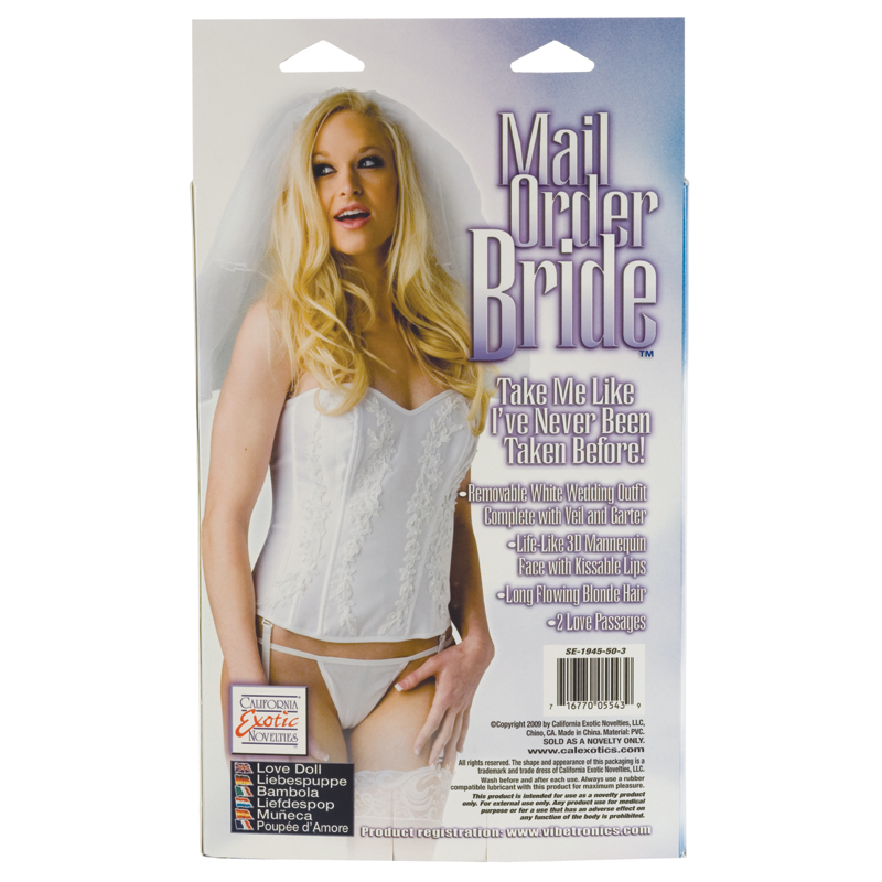 California Exotic Mail Order Bride Doll