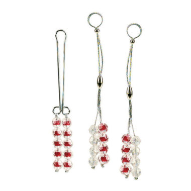 California Exotic Nipple & Clitoral Ruby Non-Piercing Body Jewelry