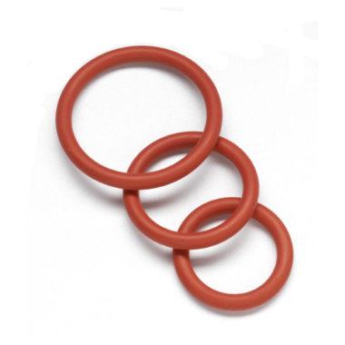 Spartacus Nitrile Cock Ring Set