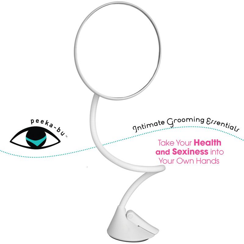 Peeka-Bu Intimate Grooming Mirror