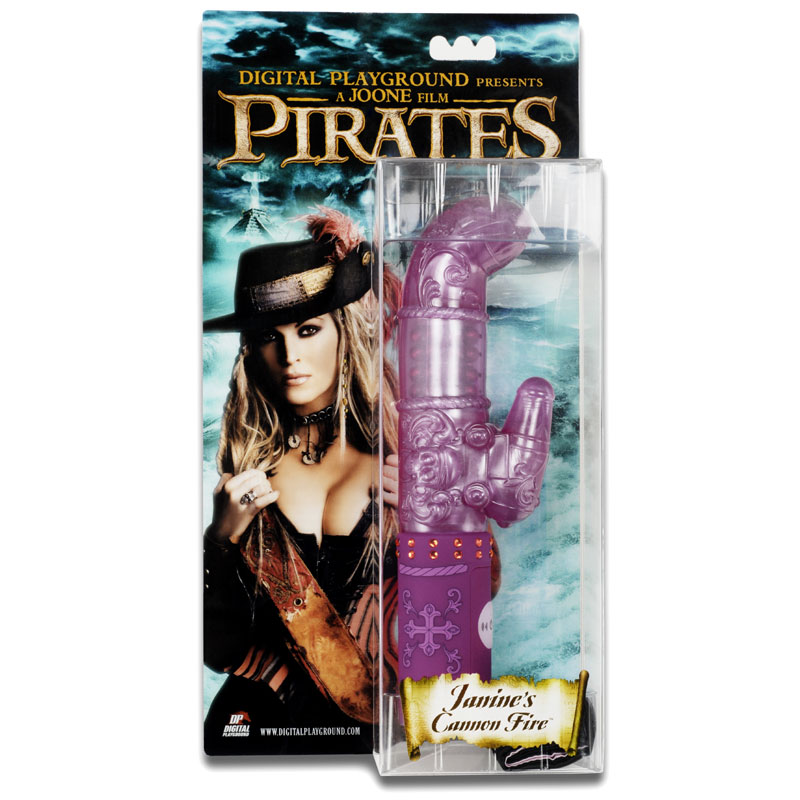 Pirates Janine Cannon Fire Rabbit Vibrator