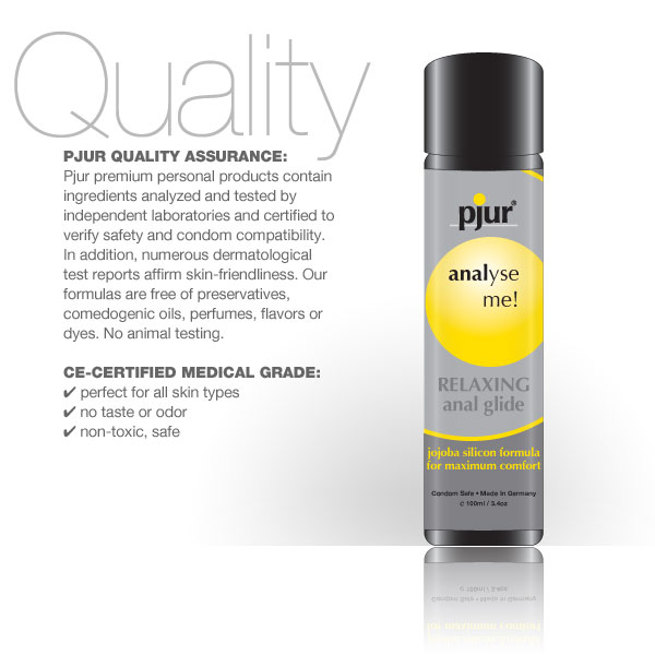 Pjur Analyse Me Relaxing Anal Glide Lubricant