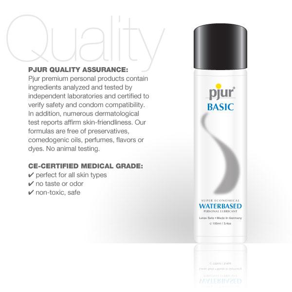 Pjur Basic Waterbased Lubricant