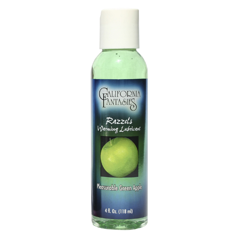 Razzels Green Apple Warming Lubricant