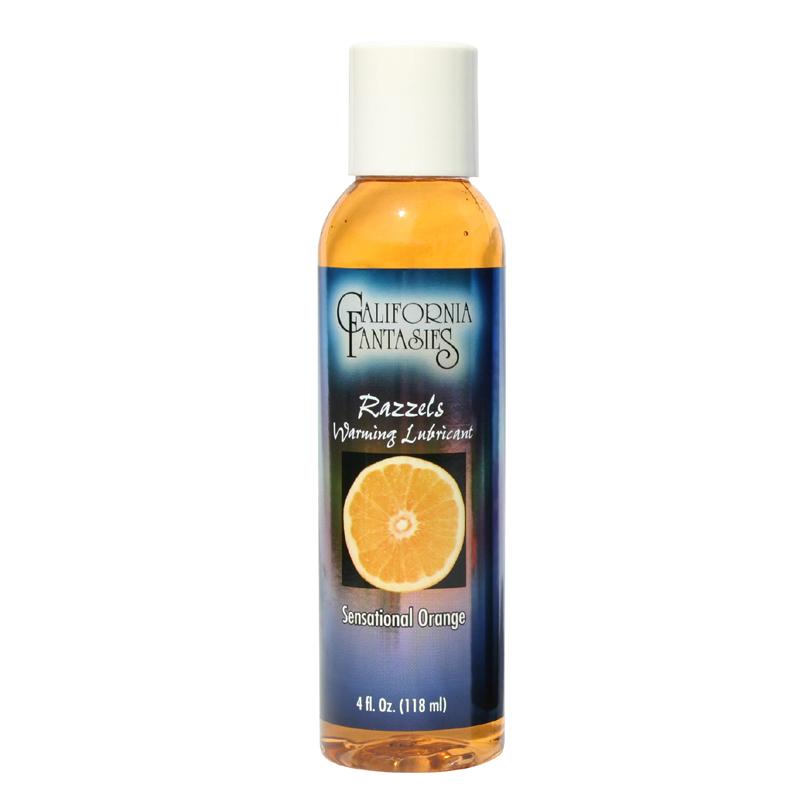 Razzels Sensational Orange Warming Lubricant