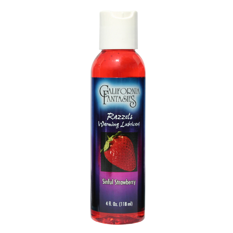 Razzels Sinful Strawberry Warming Lubricant