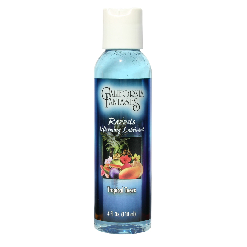 Razzels Tropical Tease Warming Lubricant