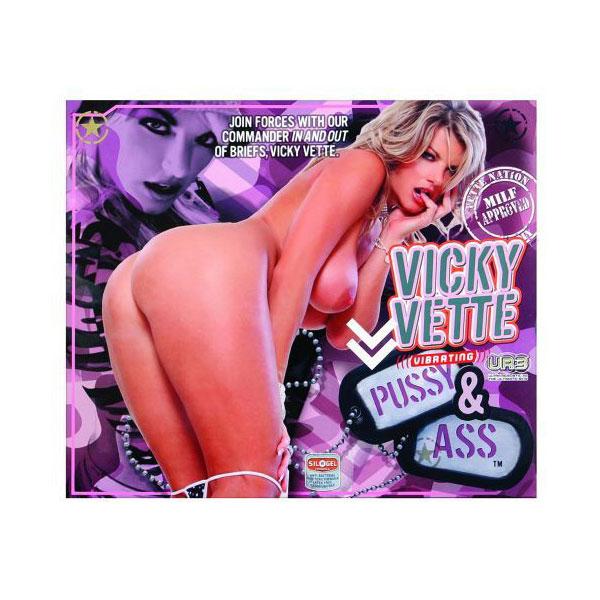 Doc Johnson Vicky Vette Milf Pussy & Ass