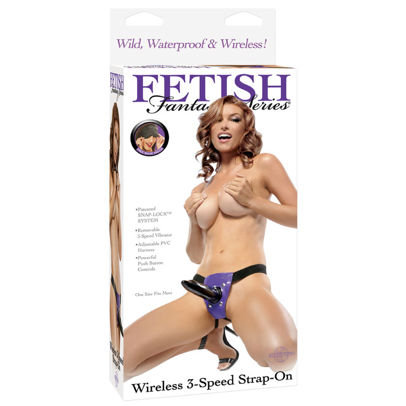 Pipedream Fetish Fantasy Wireless Vibrating Strap-On
