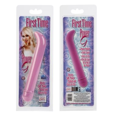 California Exotic First Time Power G Vibrator Pink