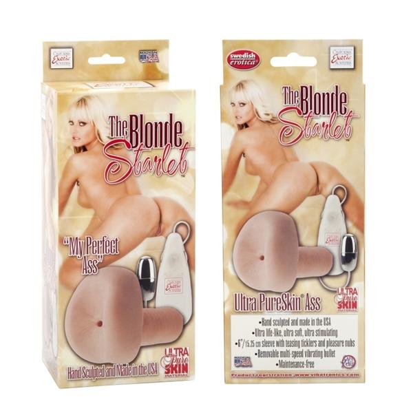 California Exotic Blonde Starlet Pure Skin Ass Masturbator