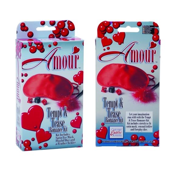 California Exotic Amour Tempt & Tease Romance Kit