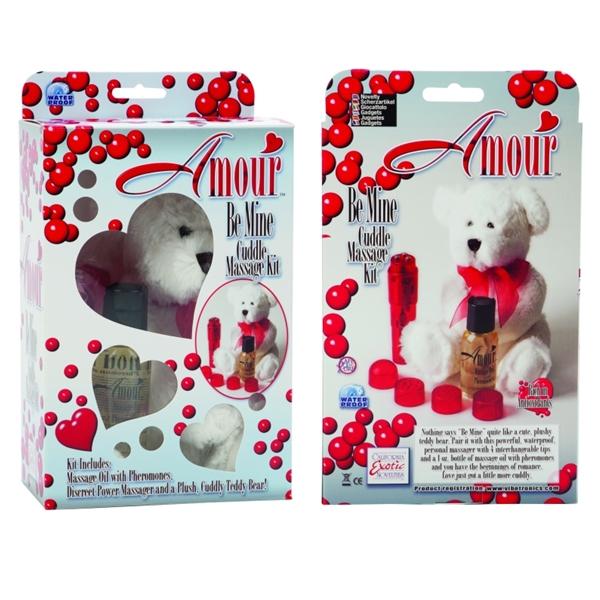 Amour Be Mine Cuddle Massage Kit