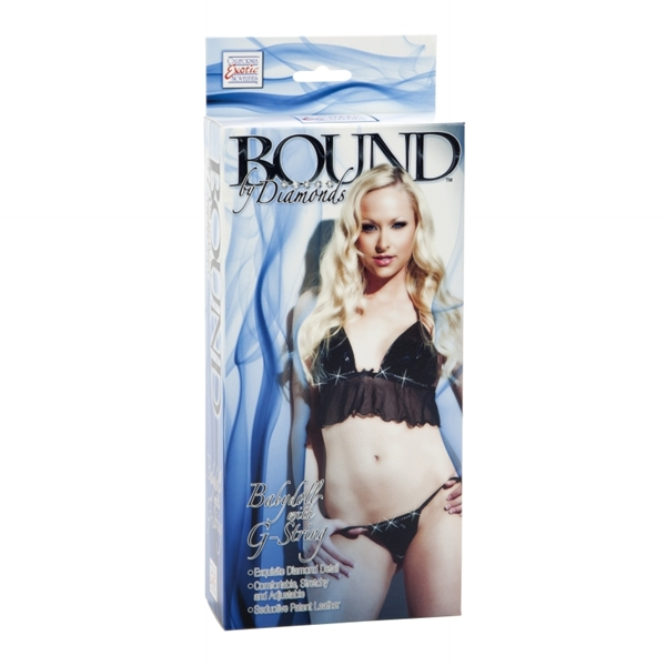 California Exotic Bound Baby Doll With G-String