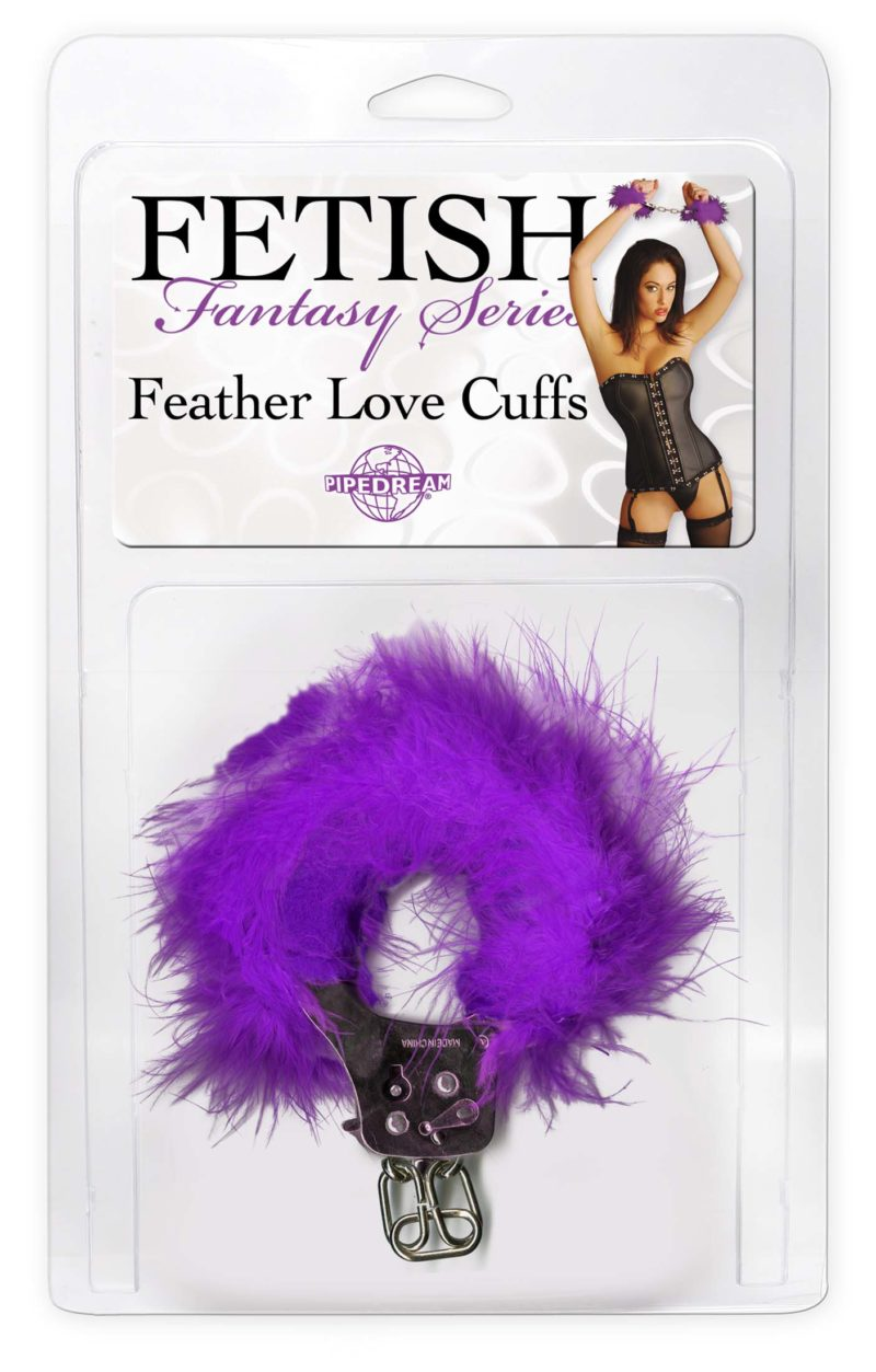 Pipedream Fetish Fantasy Feather Love Cuffs
