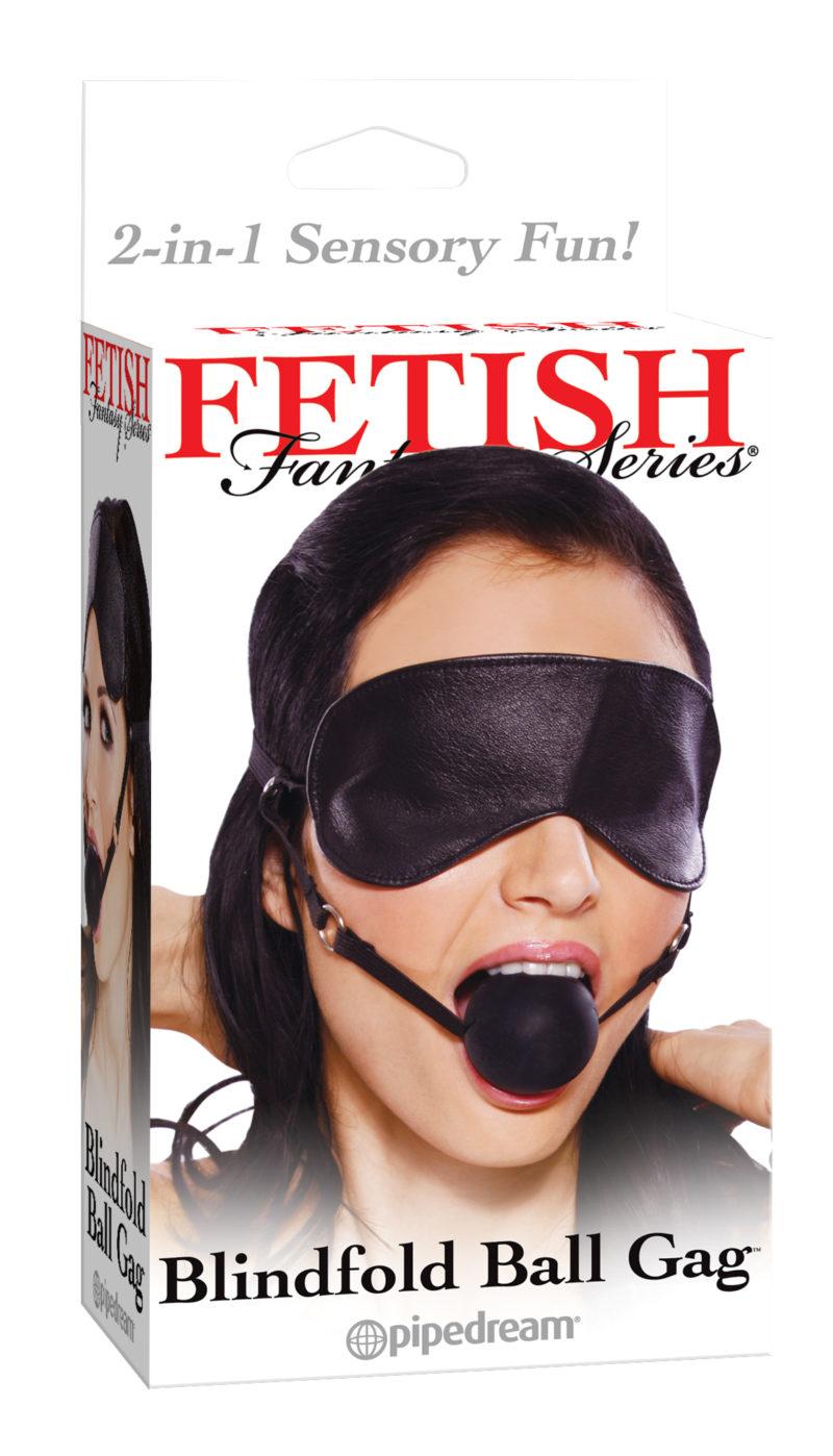 Pipedream Fetish Fantasy Blindfold Ball Gag