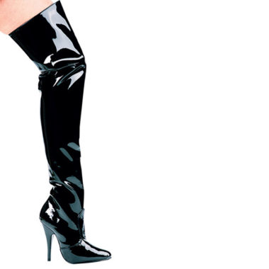 Ellie Shoes Susie 5 inch Heel Thigh High Boot