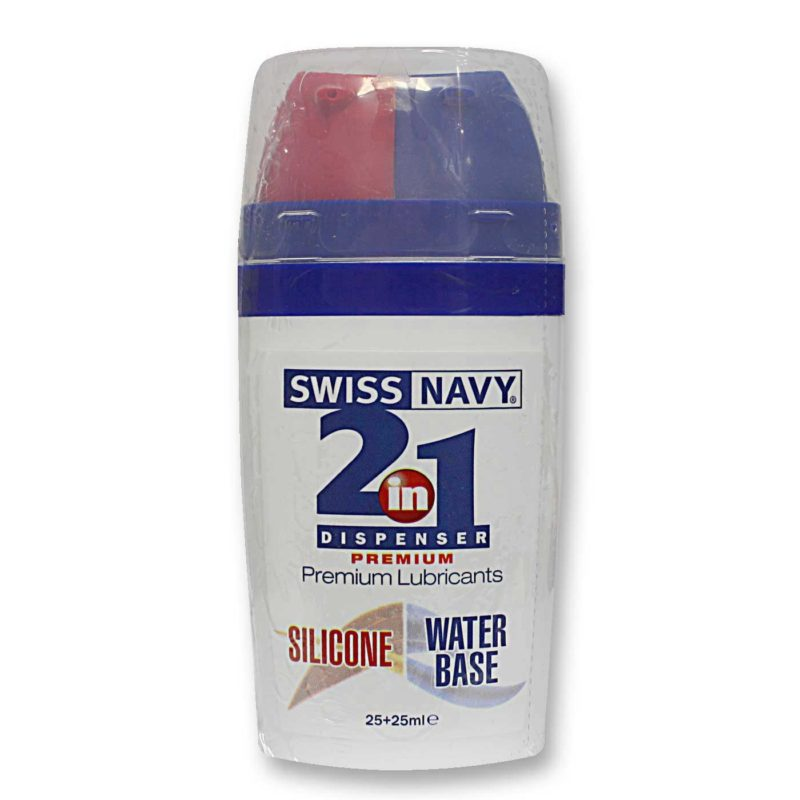 Swiss Navy 2 in 1 Silicone and Water Based Lubricant