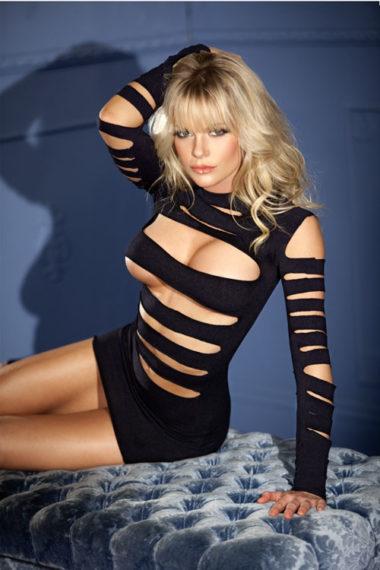 Be Wicked Sexy Long Sleeve Mini Dress