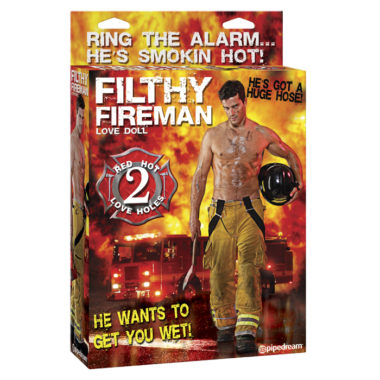 Pipedream Sexy Fireman Doll
