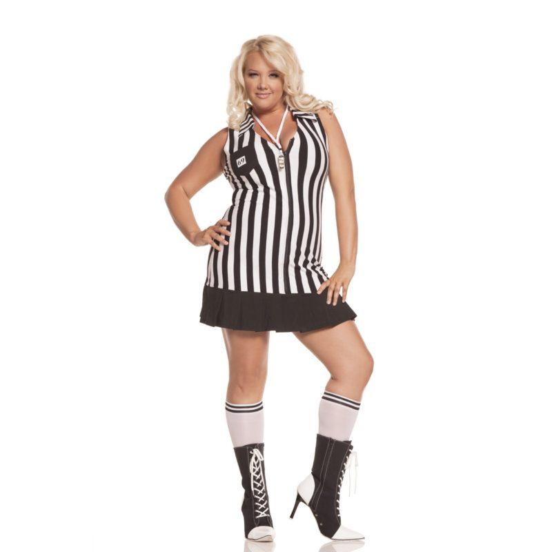 Elegant Moments Racy Referee Costume