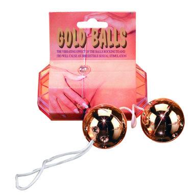 Pipedream Gold Balls 2PC Set
