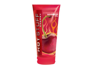 Hot Stuff Fruit Flavored and Scented Warming Oil