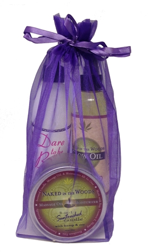 Earthly Body 3 Piece Summer Skin Care Bag Naked In the Woods