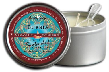 Earthly Body 3 In 1 Suntouched Candle Bubbly