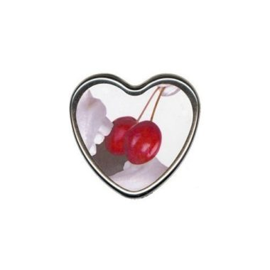 Earthly Body Cherry Edible Heart Shaped Candle