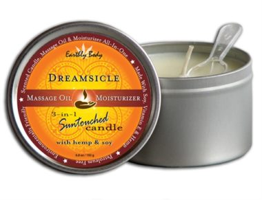 Earthly Body 3 In 1 Suntouched Candle Dreamsicle