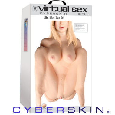CyberSkin Virtual Sex Ultra Life Size Sex Doll