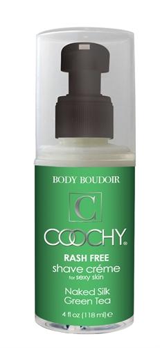 Classic Erotica Coochy Rash Free Shave Creme Naked Silk Green Tea 4oz