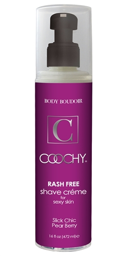 Classic Erotica Coochy Rash Free Shave Creme Slick Chic Pear Berry