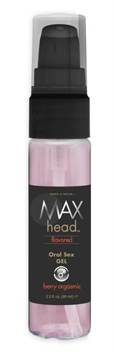 Max 4 Men Head Flavored Oral Sex Gel Berry Orgasmic