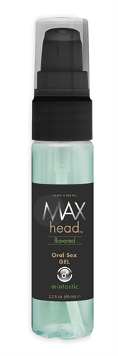 Max 4 Men Head Flavored Oral Sex Gel Mintastic