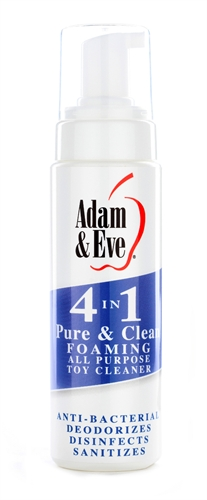 Adam & Eve 4 in 1 Pure And Clean Foaming Toy Cleaner 8OZ