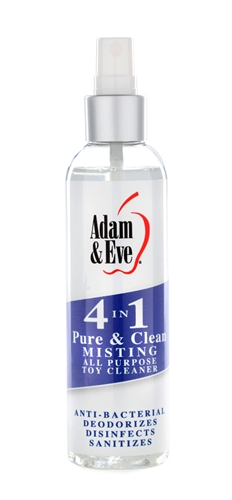 Adam & Eve 4 in 1 Pure And Clean Misting Toy Cleaner 2OZ