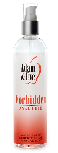 Adam & Eve Forbidden Anal Lube 8OZ
